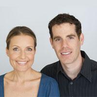 Portrait of Alona Pulde and Matthew Lederman