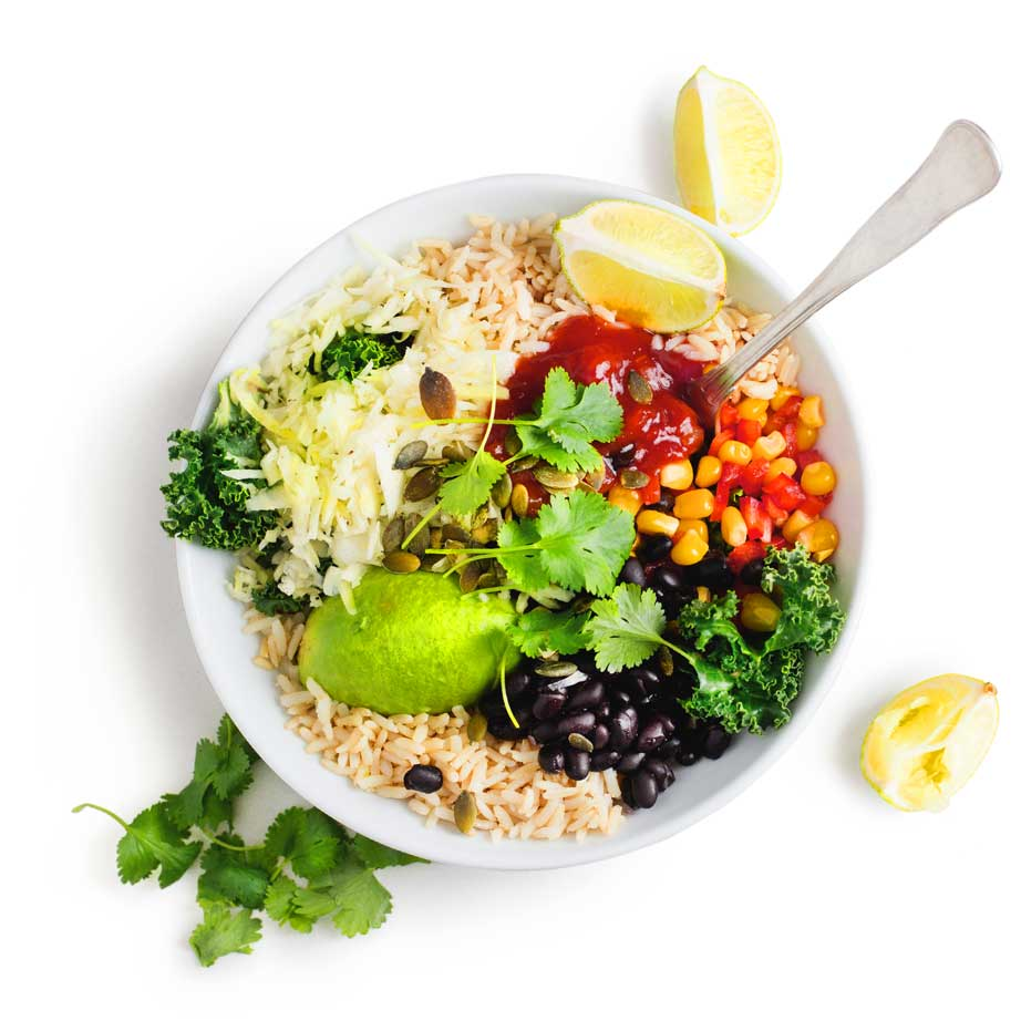 The Whole Foodie Veggie Bowl
