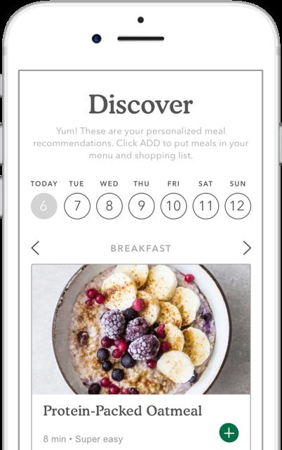 iPhone sample screen